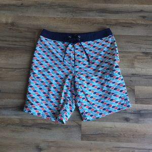 J. Crew | Fish Board Shorts